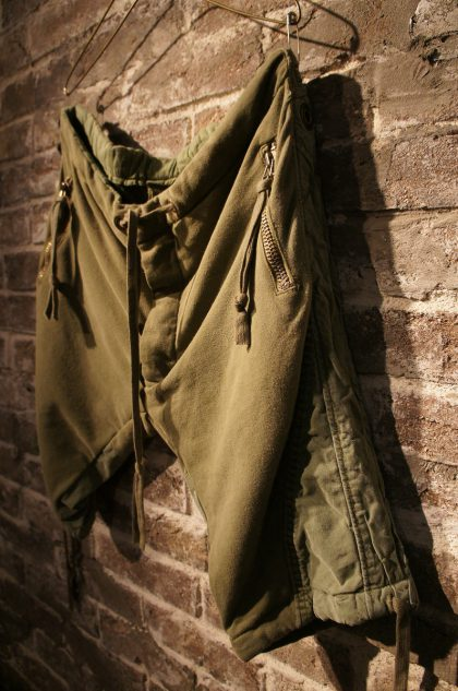 ARMY-FLEECE-TENT-GL1-SLIM-FIT-SHORTーWorld-exclusive-for-SOUTERRAIN