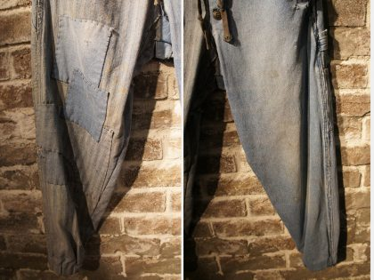 MIXED VINTAGE DENIM PATCHWORK LOUNGE PANT (6)