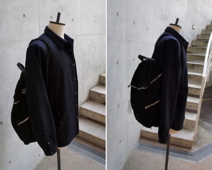 山内-Exclusive for SOUTERRAIN(16-17AW 3rd.)navy-gudibackpack.T.exclusive